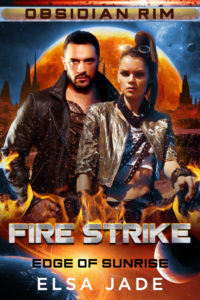Cover for Fire Strike by Elsa Jade